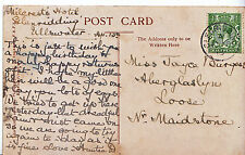 Genealogy Postcard - Family History - Burgess - Loose - Near Maidstone   U3743