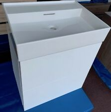 Laufen KARTELL Waschtisch 60x46 cm weiß inkl. Unterschrank weiß matt