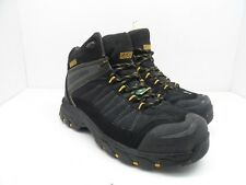 DAKOTA Men's Mid-Cut Safety Hiking Steel Toe CP Boot Black Size 8.5EE