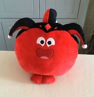 COMIC RELIEF RED NOSE DAY CONK THE COURT JESTER ROUND SOFT PLUSH TOY