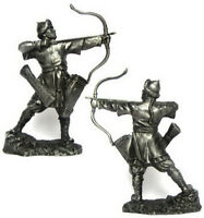 Tin soldier, figure. Warrior-Saracens with a bow, 12th century 54 mm