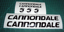Cannondale Bike Decal Sticker Set 7 MTB DH Cycling Road Racing Winshield Bumper
