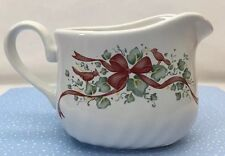 Corelle Gravy Boat Callaway Ribbons Christmas Holiday Winter Ivy Vintage