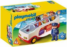 Playmobil 1 2 3 6773 Airport Shuttle Bus Boxed *Brand New & Sealed*