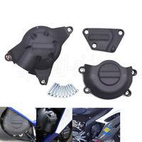 Racing Engine Cover Set Engine Case Guard Protector Aprilia RSV4 R RR APRC 09-18