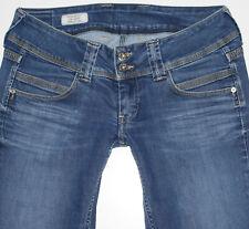 Pepe London Damen Jeans VENUS Straight Leg W30 L32 blau