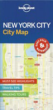 Lonely Planet New York City Map (USA) *FREE SHIPPING - NEW*