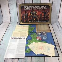 Vintage Britannia Board Game H P Gibsons Complete 1986 - Bad Box