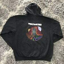 NWOT Wolfmother Zip-Up Hoodie Jacket Victorious Grey Size XL Rock Cotton/Poly