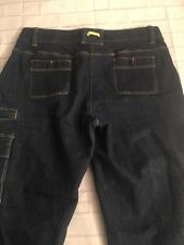 Lands End Women's Size 10P Dark Wash Stretch Bootcut Jeans