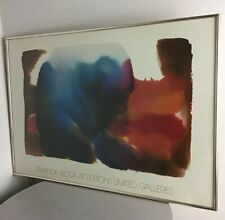 Vintage 1982 Amanda Block Editions Limited Galleries Curtain Print Modern Art