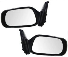 88 89 90 91 92 Corolla Left & Right Black Manual Mirror Pair L+R
