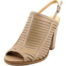 Zapatos de tacón de mujer de tacón alto (más que 7,5 cm) de color principal marrón talla 41