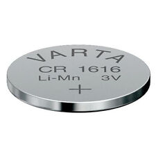 2 x Varta  Batterie CR1616 lose Lithium 3V Knopfbatterie CR 1616 Knopfzelle