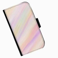 Rainbow Mobile Phone Wallet Cases for Apple