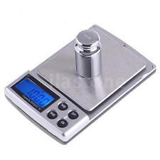 500g 0.1g Mini Electronic Digital Balance Gram Weight Scale G/CT/OZ/DWT/GN US