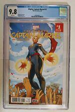 Mighty Captain Marvel #1 (CGC 9.8) Torque Cover! 3/17 Ms. Marvel