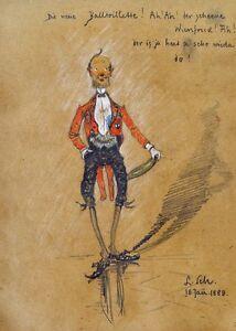 Ludwig Scheuermann Winfried From Miller Ball Wardrobe Tails Orden Chapeau Claque