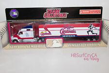 ST LOUIS CARDINALS STL Team Collectible DieCast Semi Truck MLB Baseball Fleer