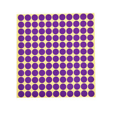 132x Round Paper Sticker Labels Foressential Oil Bottle Capcolor Coded Sticker3c Purple