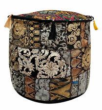 Indian Mandala Handmade Ottoman Pouffe 100% Cotton Chair Cover