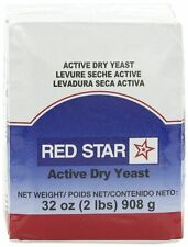 RED STAR  ~ACTIVE DRY YEAST~ Vacuum Pack Bread  2 LBS / 32 OZ  KOSHER