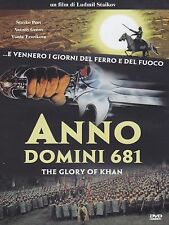 FILM DVD - ANNO DOMINI 681 - THE GLORY OF KHAN - Nuovo!!