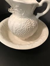 bowl pitcher wash set