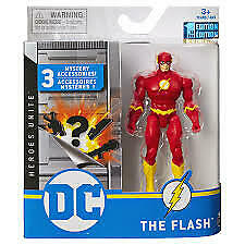 DC Heroes Unite *The Flash *1st Edition* 3 Mystery Accessories Spin Master