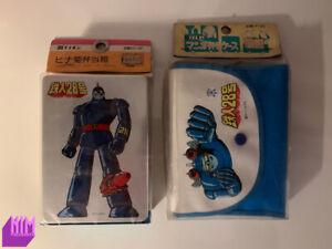 Shin Tetsujin 28-Go Bento Box + Bag 1980's/90's