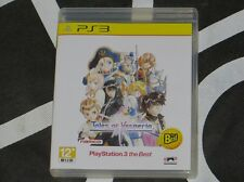 Playstation 3 PS3 Import Game Tales Of Vesperia Best Japanese Language