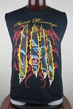 Sweet Revenge Band Mens L Sleeveless Black Graphic T Shirt