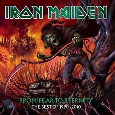 IRON MAIDEN (FROM FEAR TO ETERNITY - BEST OF 2CD SET SEALED + FREE POST)