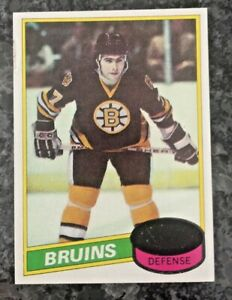 1980-81 Topps Ray Bourque Rc