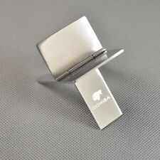 COHIBA  Pocket Silver  Stainless Steel Foldable Stand Cigar Ashtray Holder