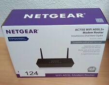 NetGear AC750 WiFi ADSL2+ Modem Router (D6000).