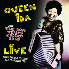 QUEEN IDA & THE BON TEMPS ZYDECO BAND - Live San Francisco '80. New CD + Sealed.