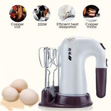 5 Speed Electric Stand Mixer Egg Beater Handheld Blender Butter Cake 220V 200W