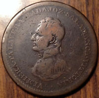 1813 BR.984 LOWER CANADA ONE PENNY TOKEN SUPER SCARCE COIN !!