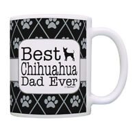 Dog Dad Gifts Best Chihuahua Dad Ever Tea Mug Coffee Cup Ceramic Coffee Mug