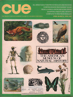 New York Cue Magazine April 29-May 5 1974 Museum of Natural History 060820AME