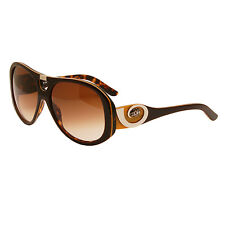 Miss Sixty - plata Naranja Grande Gafas de sol con funda