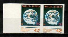 Wallis and Futuna Islands Scott 271 Mint NH imperf pair (Catalog Value 20 Euros)