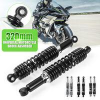 "2Pcs 320mm 12.5"" Motorcycle Rear Shock Absorbers Damper For Honda Yamaha Suzuki"