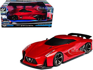 2020 NISSAN CONCEPT VISION GRAN TURISMO RED 1/32 DIECAST MODEL BY MAISTO 22302 B
