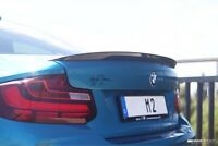 PERFORMANCE Style Trunk Spoiler For MY14-18 BMW F22 2-Series / F87 M2 (CARBON)