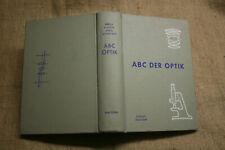 Lexikon Optik, Mikroskop, Meteorologie, Vermessungstechnik,Photografie, DDR 1961