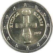 Pièces euro de Chypre pour 2 euro année 2012