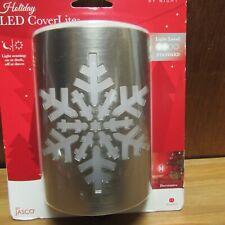 Jasco LED Night Light CoverLite w/ Light Sensor Plug-In Holiday Tree snowflake