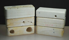 (Set Of 6) Vintage Duncan Ceramic Molds1960'S Various Ceramic Pottery Collectibl